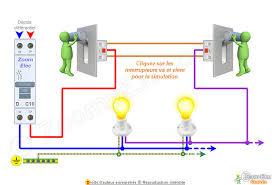 le va et vient schéma va et vient schema électrique interactif d un va et vient
