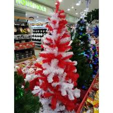 Red White Christmas Tree