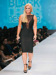 50 Fashion Houston Night 1 November 2014 Little Black Dress Designers Theresa Roemer Wearing
