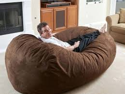 Huge Bean Bag Chair How To Make A Bed Cheap