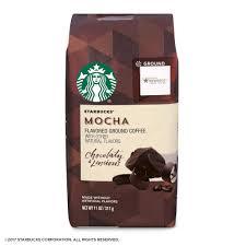 Amazon Starbucks Mocha Flavored Ground Coffee 11 Ounce Bag