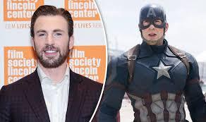 Chris Evans And Captain America MARVEL Avengers Infinity War