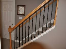 Bunch Ideas Of Interior Stair Rail Kits Decorations Modern Indoor ... Wrought Iron Railing To Give Your Stairs Unique Look Tile Glamorous Banister Railings Outdbanisterrailings Astounding Metal Unngmetalbanisterwrought Deckorail 6 Ft Redwood Rail Stair Kit With Black Alinum Banister Interior Kits And Kitchen Design Glass Staircase Railings Types Designs Modern Lowes Spindles Indoor Ideas Decorations Interior Kit Lawrahetcom Model Remarkable Picture