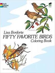 Download E Books Fifty Favorite Birds Coloring Book Dover Nature PDF