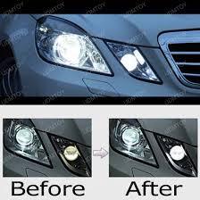 2010 13 mercedes e350 e550 6000k hid match led parking light module