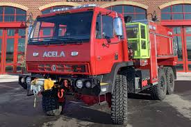 100 Red Fire Trucks Acela Truck Company Expands Into WUI Truck Market