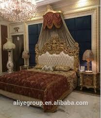 luxus high end 24k gold große könig größe schlafzimmer möbel mit kommode und bett bank buy könig schlafzimmer set möbel high end klassische