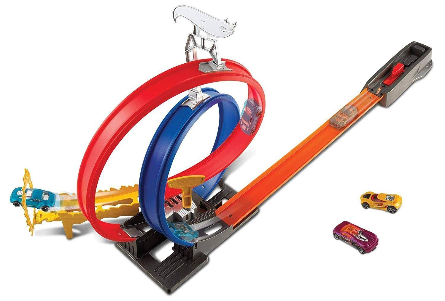 Hot Wheels Turbo Race Diecast Set - Scale 1:64