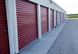 Central Nebraska Storage With Elegant Red Steel Sliding Door And Newest All Indoor Climate Control
