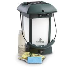 trend thermacell mosquito repellent patio lantern 90 with