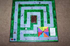 My Percy Jackson Board Game