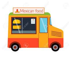 100 Food Truck Trailer Street Festival Color Labels Van Restaurant Cafe