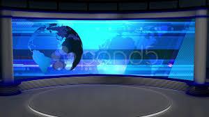 News TV Studio Set 27
