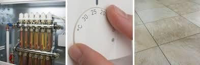 temperatur einer fußbodenheizung richtig einstellen kesselheld