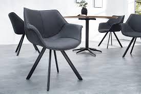retro stuhl schwarz mit armlehne riess ambiente de