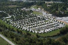 River Plantation RV Resort Aerial Of The Park
