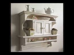 Rustic Kitchens Shelves Kitchen Cabinet Shabby Chic Arte107
