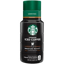 Starbucks Unsweetened Iced Coffee 48 Fl Oz