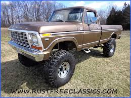 100 Ford 4x4 Trucks For Sale 79 Truck 1979 F250 Long Bed Regular Rrd