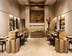 Modern Jewelry Shop Design Using Eclectic Display Cases And Chic Lighting