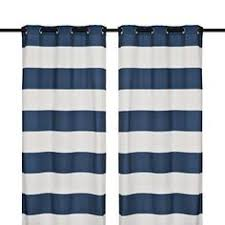 Striped Curtain Panels 96 by Half Price Drapes Blue And Off White 50 X 96 Inch Horizontal