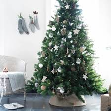 Small Frosty Christmas Tree Standing Decoration