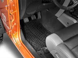 Jeep Jk Floor Mats by Mopar Wrangler Slush All Weather Front Floor Mats W Jeep Logo