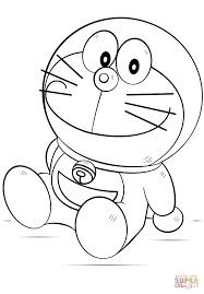 Click The Doraemon Coloring Pages To View Printable