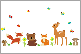 Forest Wall Stickers   Deer   Rabbit   Fox   Squirrel   Birds ... Buck Deer Hunting Decal Car Decals And Stickers Vinyl Large X13 Bone Collector Design 420 Bowhunting Gun Hearts Love Window Sticker Trade Me Free Silhouette Download Clip Art On Best Ever Bowhuntingcom Colored Duck Save Browning Head Png Images Of Spacehero Lovely Gun Bow Truck Style Doe Decalsticker Choose Color Buy 2 Tancredy Newest Christmas Deer Stickers Decor Wall Window Car Body