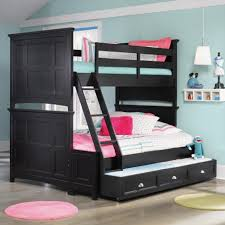 Bedroom Pretty Wooden Trundle Beds With Drawers For Saving