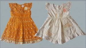 summer cotton frocks new collection 3 month baby frock baby