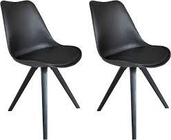 homexperts esszimmerstuhl kaja 02 2 stück sitzschale mit sitzkissen in kunstleder kaufen otto