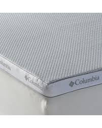 bargains on columbia super cool 3 inch performance mattress topper