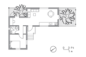 104 Tree House Floor Plan Golany Architects Two