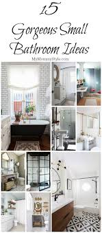 15 Gorgeous Small Bathroom Ideas - My Mommy Style 10 Latest Bathroom Decorating Ideas For Rental Apartment Family Bathroom Ideas Bathrooms Designs All The Family Bold Design Small Bathrooms Decor Remodel Designs Tiles My Layout Vanity For 27 Mirror Unique Modern 19 Remodeling 2018 Safe Home Inspiration Tile Colors 20 Great New Toilet Room Makeover Reveal And Clever Storage Kelley Nan 21 Basement Theater Awesome Picture Future