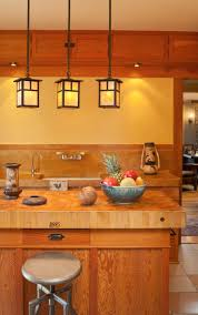 craftsman style pendant kitchen light kitchen lighting design