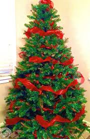 Decorating Christmas Trees With Mesh Ribbons Cool Best Ribbon Ideas And Elegant Tree