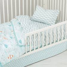 Well Nested Toddler Bedding Blue