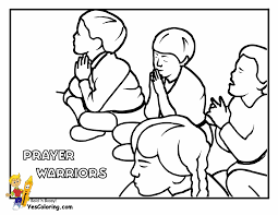 Great Children Praying Coloring Page 58 For Pages Adults With