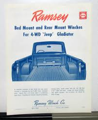 1963 Willys Jeep Gladiator Ramsey Winch Sales Brochure Rare Factory Panel Wagon 265 Sbc Swapped 1957 Willys 44 Bring A Jeepdraw Part Ucolors Jamies 1960 Pickup Truck The Build Jeep Wikipedia How To Swap Barnfind Onto Wrangler Yj Chassis 1962 First Drive Trend Knowledge Center Trucks The Highs And Lows Defense Contractor Plans Successor Based On Cohort Outtake When Pickups Were Work Parts Fishing What I Started 55 Truck