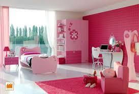 Pink Girl Bedroom Color Design Decorating Ideas Barbie Theme
