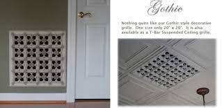 the finest decorative grills available historic masters combine