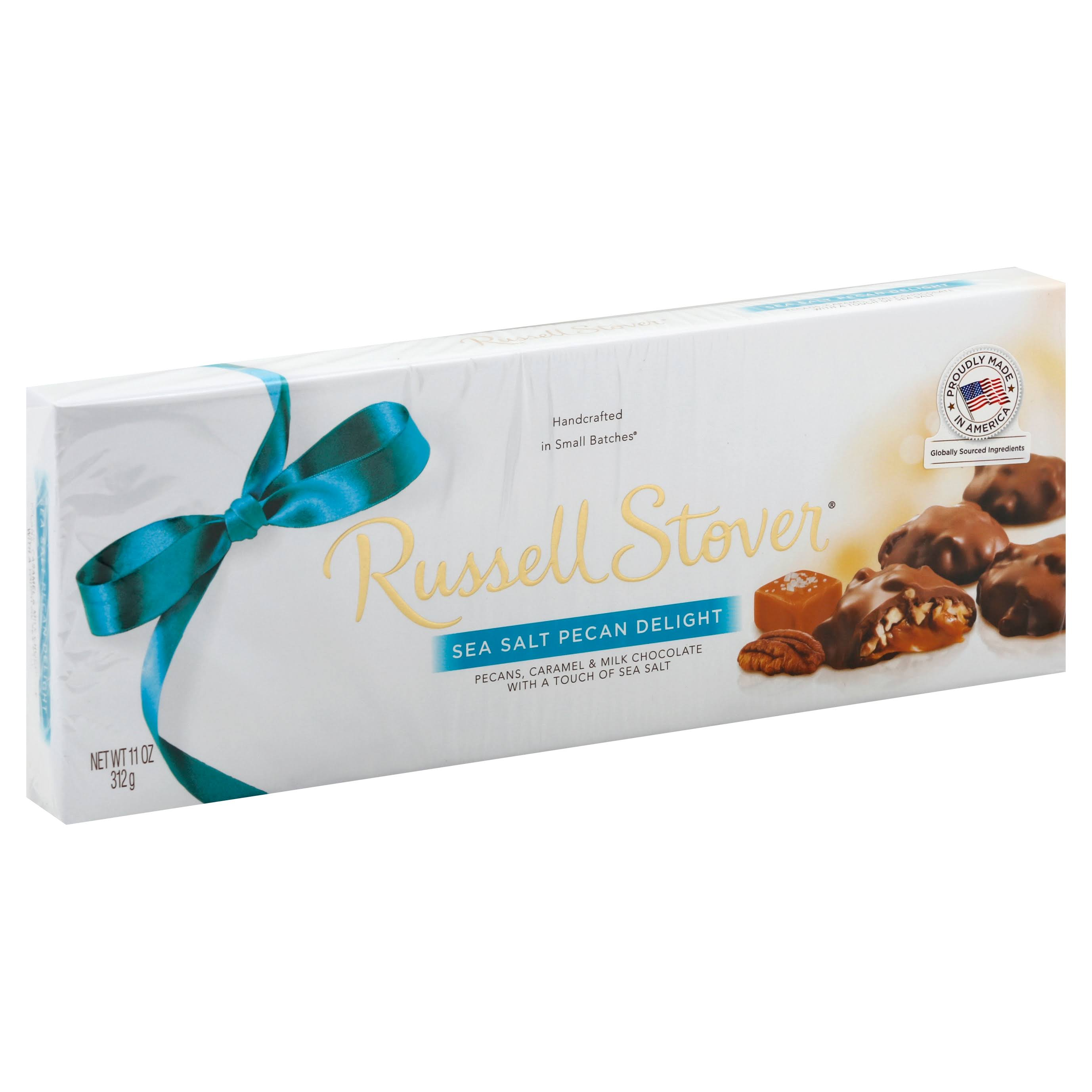Russell Stover Pecan Delights, Sea Salt - 12 pieces 11 oz (312 g)