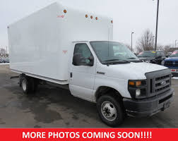 2017 Used Ford E-Series Cutaway E-450 16' Box Truck RWD Light ...