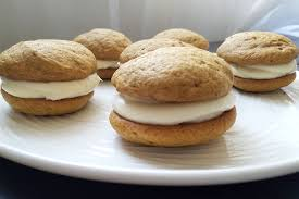 Pumpkin Whoopie Pies With Maple Spice Filling by The Institute Of Culinary Education U0027s Pumpkin Whoopie Pie Recipe
