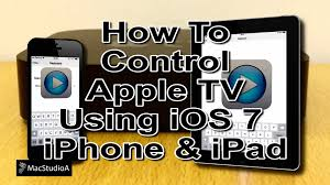 Control Apple TV Using iOS7 Remote App