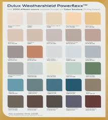 Dulux Weathershield Exterior Paint Colours