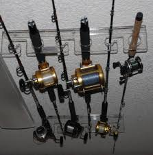 fishing pole storage holder ideas for the house