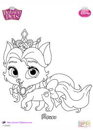 Click The Palace Pets Rouge Coloring Pages