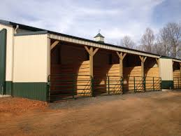 Out Door Horse Stalls Under Lean-to | Horse Barns And Fencing ... Mini Barns Storage Sheds Charlotte Nc Bnyard Lean To Carport Build The Garage Journal Board Porch Quality Horse Pine Creek Structures Tack Room Amish Built Pa Nj Md Ny Jn Custom Valley Barn 30 X 31 9 Shop Metal Buildings At Leanto Overhangs Yard Great Country Garages Wikipedia Shed Row With To L Shape New England Style Post Beam Garden 3
